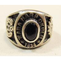 Серебряное,кольцо Турецкой офицерской школы.