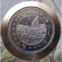 Эритрея, доллар, 1993, пруф, монета-письмо
