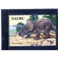 Науру. Mi:NR 641. Динозавры. Трицератопс. 2006.