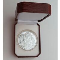 Футляр к монете 58 мм кожаный