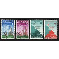 Гайана 1968, радиолинии, связь, тропосфера, спутник