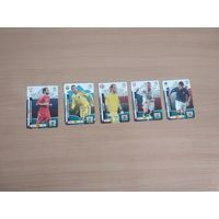 Карточки PANINI EURO 2012.Цена за лот.Самовывоз.Почтой не высылаю.
