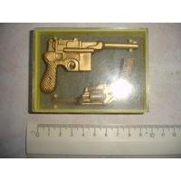 Набор сувенирный СССР оружие революции пистолеты