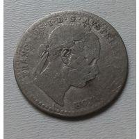 Венгрия 10 крейцеров 1870 г.