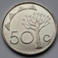 Намибия, 50 центов 2010 г