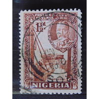 Нигерия. Король Георг V. 1936 г.