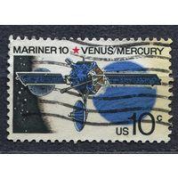 Космос. Зонд Маринер-10. США. 1975. Полная серия 1 марка