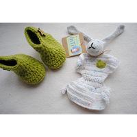 Первая игрушка новорожденного пинетки подарочный набор