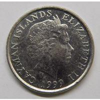 Каймановы острова 5 центов 1999 г