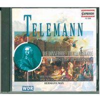 CD Telemann - Rheinische Kantorei, Das Kleine Konzert, Hermann Max - Die Donnerode / The Thunder Ode, Der Herr Ist Konig / The Lord Is King (1995)