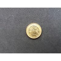 10 центов 2015г.