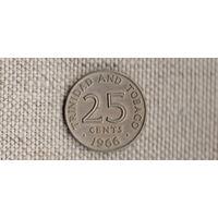 Тринидад и Тобаго 25 центов 1966/(DY)