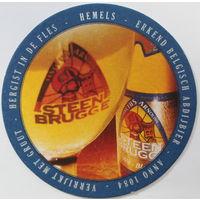 Подставка под пиво Steen Brugge /Бельгия/-2