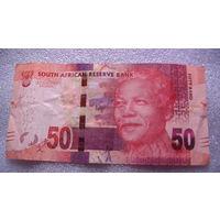 ЮАР 50 рандов. Нельсон Мандела.  распродажа
