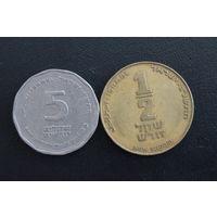 2 монеты Израиля