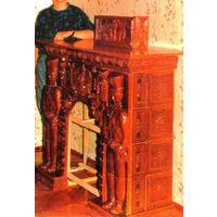 Камин - представляет из себя уникальный набор объемных изразцов ручной работы, обожжённых при температуре свыше 1000гр, покрытых глазурью. Тематика война 1812года. Изготовлен в единственном экземпляре