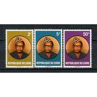Конго (Заир) - 1982 - Президент Мабуту - [Mi. 756-758] - полная серия - 3 марки. MNH.