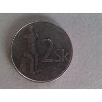 Словакия 2 кроны 2002 г