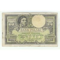 Польша 500 злотых 1919 год.