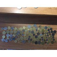 Лот монет Украины. Без МЦ