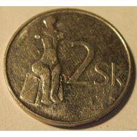 Словакия 2 кроны 1993