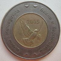 Босния и Герцеговина 5 марок 2005 г.