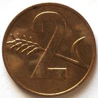 Швейцария 2 раппен 1969 года (UNC, с точками)