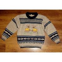 Теплый свитер для мальчика 5-7 лет