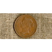 Британская Восточная Африка 1 писа 1898 /протекторат/ (N)