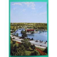 Болгария. Пловдив. Озеро ярмарочного городка. Чистая. 1960 года.