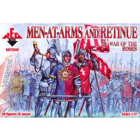 Рыцари и свита. Война Роз. RedBox 1/72