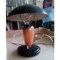 Настольная лампа 50 годов