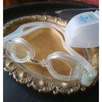 Очки для плавания Fashy Аntifog / UV-Protection, в родном футляре (марочные) без дкефектов