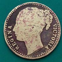 Жетон королева Виктория