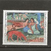 1968 Франция Живопись