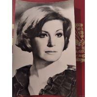 Актриса Людмила Максакова 1974г