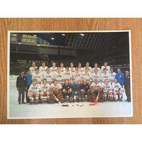 Фото Хоккей Чехословакия 1973