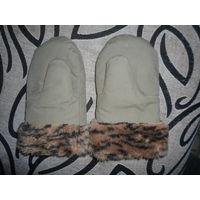 Перчатки зимние военные двухпалые