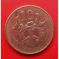 51-05 Кипр, 10 центов 2002 г.