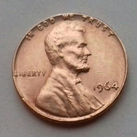 1 цент США 1964, 1964 D