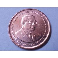 Маврикий 5 центов 2012 г.Аукцион с 1.00 руб.