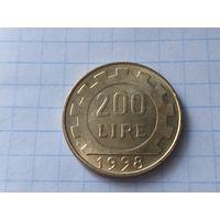 Италия 200 лир, 1998