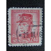 Чехословакия 1945. Известные люди.