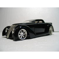 Ford A Pick Up Wild Rod Street Rod 1937 1:22-1:24 Jada Toys D-Rods