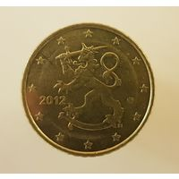Финляндия 50 евроцентов 2012 г.
