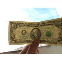 100 долл 1993г. Кому интересно если