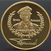 Германия военные третьего рейха Эрвин Роммель. позолота. распродажа