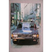 Календарик, 1988, Автомобиль.