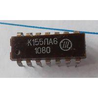 Микросхема К155ЛА6