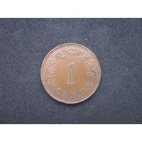 Мальта 1 цент 1972